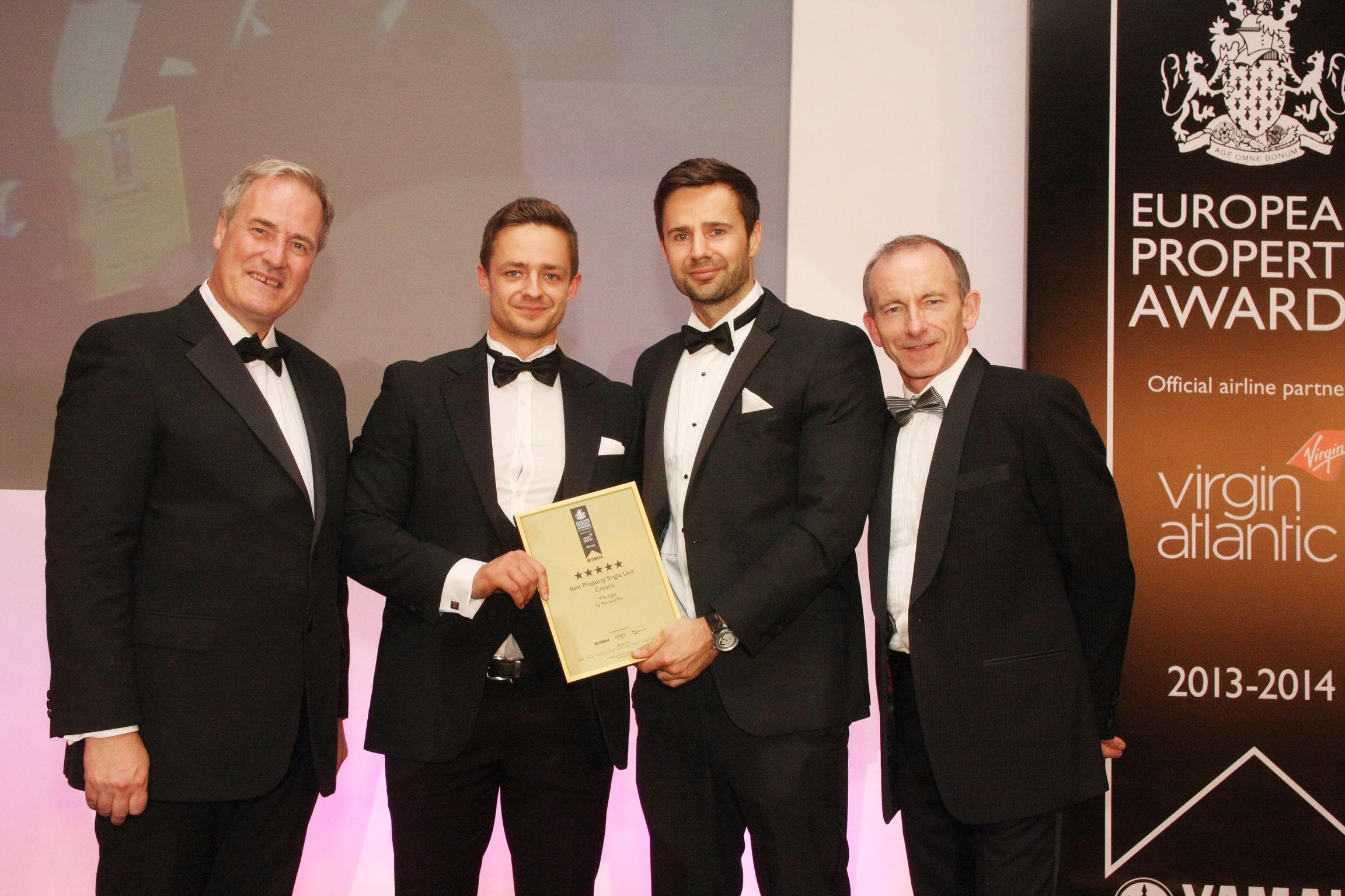 Pin & Pin win an International Property Award