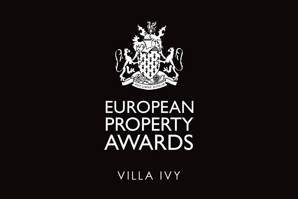 Villa Ivy selected to win European Property Award